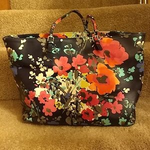 Large Merona floral tote